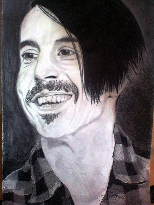 Anthony Kiedis by labellavitaaa
